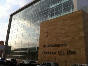 Ayuntamiento de Oropesa del Mar. Al Cesar lo que es del Cesar...