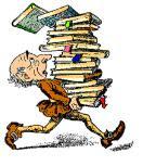 cargando libros