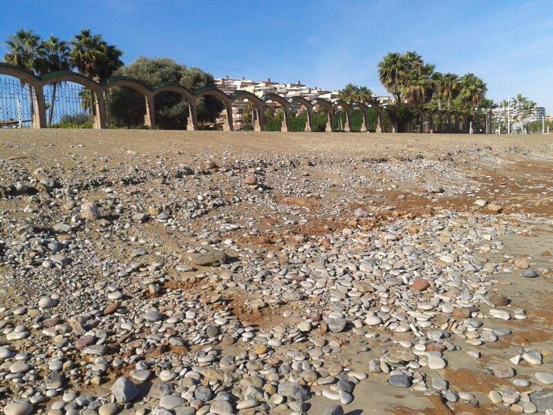 Playa Amplaries Noviembre 2012