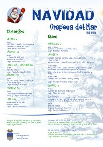 programa navidad 2012