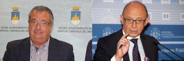Rafael Albert y Cristobal Montoro