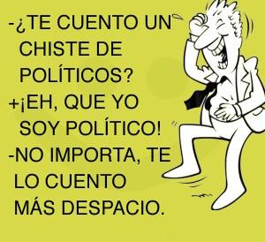 Chiste de politicos