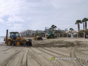 Trabajos en la Playa