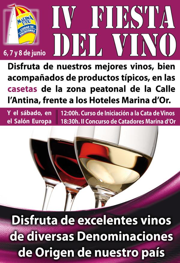 Cartel Fiesta del Vino 2014