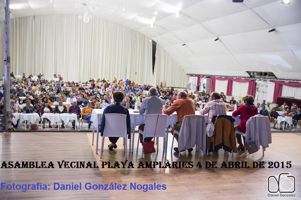ASAMBLEA GENERAL DE VECINOS PLATAFORMA PLAYA LES AMPLARIES