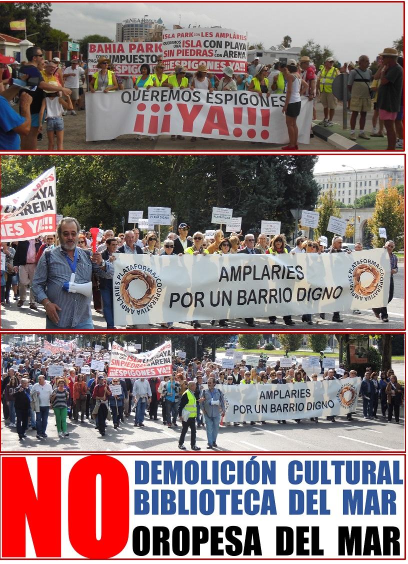 manifestacion-en-madrid-6-11-2016