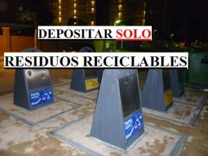Contenedores Residuos Reciclables
