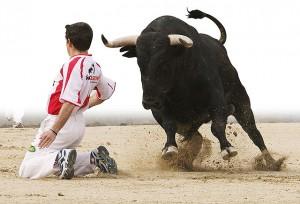 recortadores toros